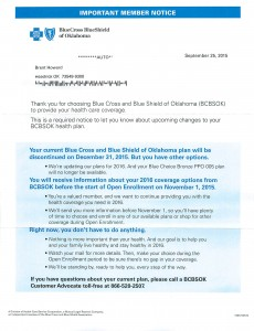 BlueCross BlueShield Cancellation2